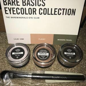 BareMinerals Eye Shadow kit + brush NEW beautiful